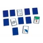 ErgoPic® Kartenhalter 12er-Set, blau |