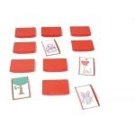 ErgoPic® Kartenhalter 12er-Set, rot |