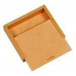 Holzbox mit Schiebedeckel zum Hochstellen, 16,5 X 14 X 3,5 cm |