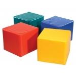 Pänz Spiel- und Sitzwürfel gelb, 50 X 45 cm |