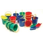 Spielzeugeimer 2 Liter, grün  