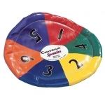 Spordas CatchDisk Wurf- und Fangscheibe, 6-farbig |