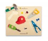 Holz-Puzzle große Griffe Werkzeug