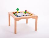 Spieltisch für LEGO und DUPLO, inkl. Steine