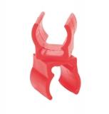 Befestigungsclip Stab/Stab, rot