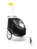 Dolphin New Edition-schwarz, inkl. Weber-Kupplung und Buggyrad